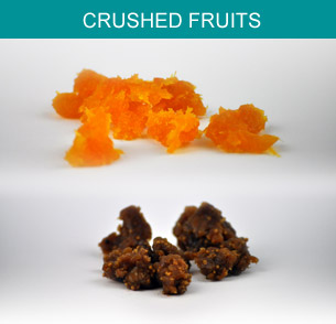 Crushed fruits